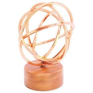 UMA Enterprises, Inc. Accessories Metal/Wood/Copper Sculpture