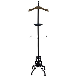 UMA Enterprises, Inc. Accessories Metal/Wood Coat Rack