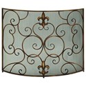 UMA Enterprises, Inc. Accessories Metal Fire Screen - Item Number: 97020