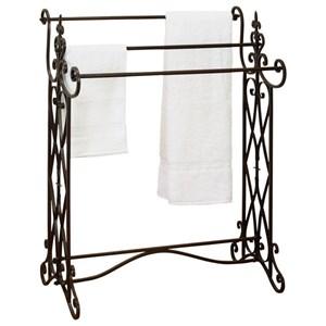 UMA Enterprises, Inc. Accessories Metal Towel Rack