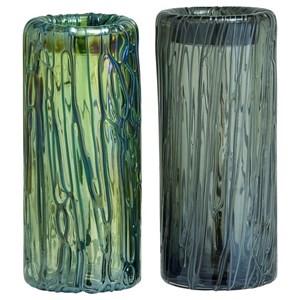 UMA Enterprises, Inc. Accessories Glass Vases, Set of 2