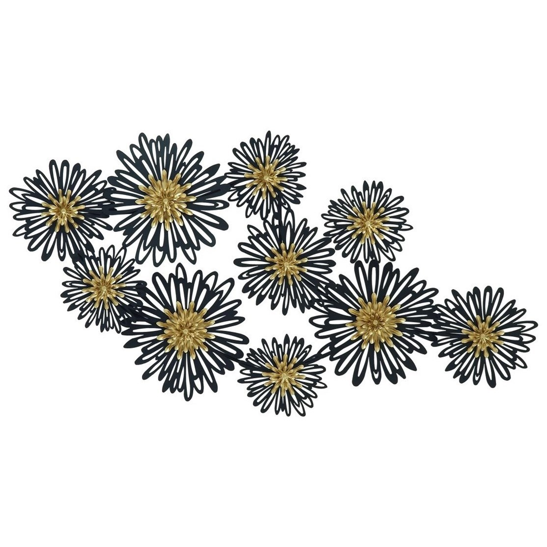 Metal Flower Wall Art uma enterprises, inc. wall art metal flower wall decor - wayside