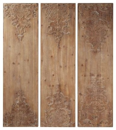 3 Piece Wooden Wall Decor