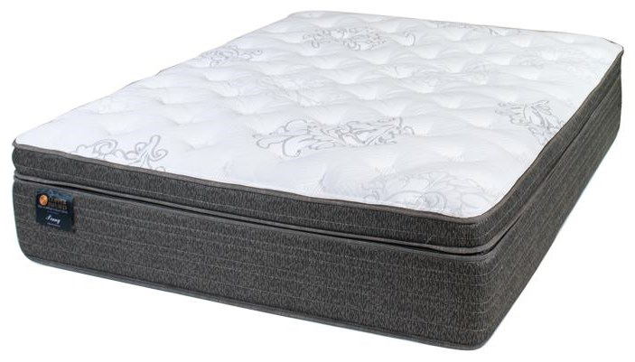 Copper Full Penny 2.0 Plush Mattress by United Bedding at Johnny Janosik