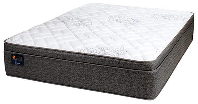 Copper Twin James 2.0 Cushion Firm Mattress by United Bedding at Johnny Janosik