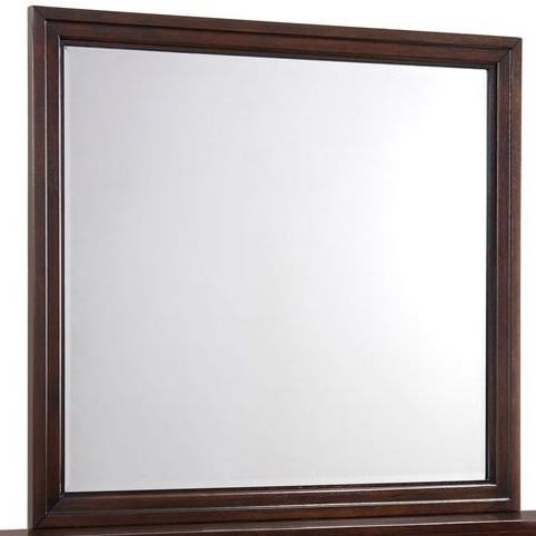Simmons Upholstery 1006 Agathis Mirror - Item Number: 1006-20
