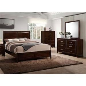 Simmons Upholstery 1006 Agathis Queen 3-Piece Bedroom Group
