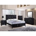 United Furniture Industries 1014 Queen Panel Bed