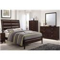 Simmons Upholstery Jackson Twin 5 Piece Bedroom Group - Item Number: 1017 Twin 5pc Group