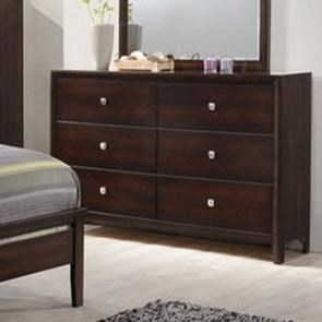 Simmons Upholstery Jackson 6 Drawer Dresser - Item Number: 1017-10