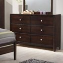 United Furniture Industries 1017 6 Drawer Dresser - Item Number: 1017-10