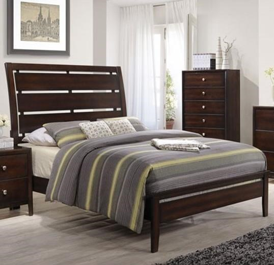 1017 Queen Panel Bed by Lane at Story & Lee Furniture