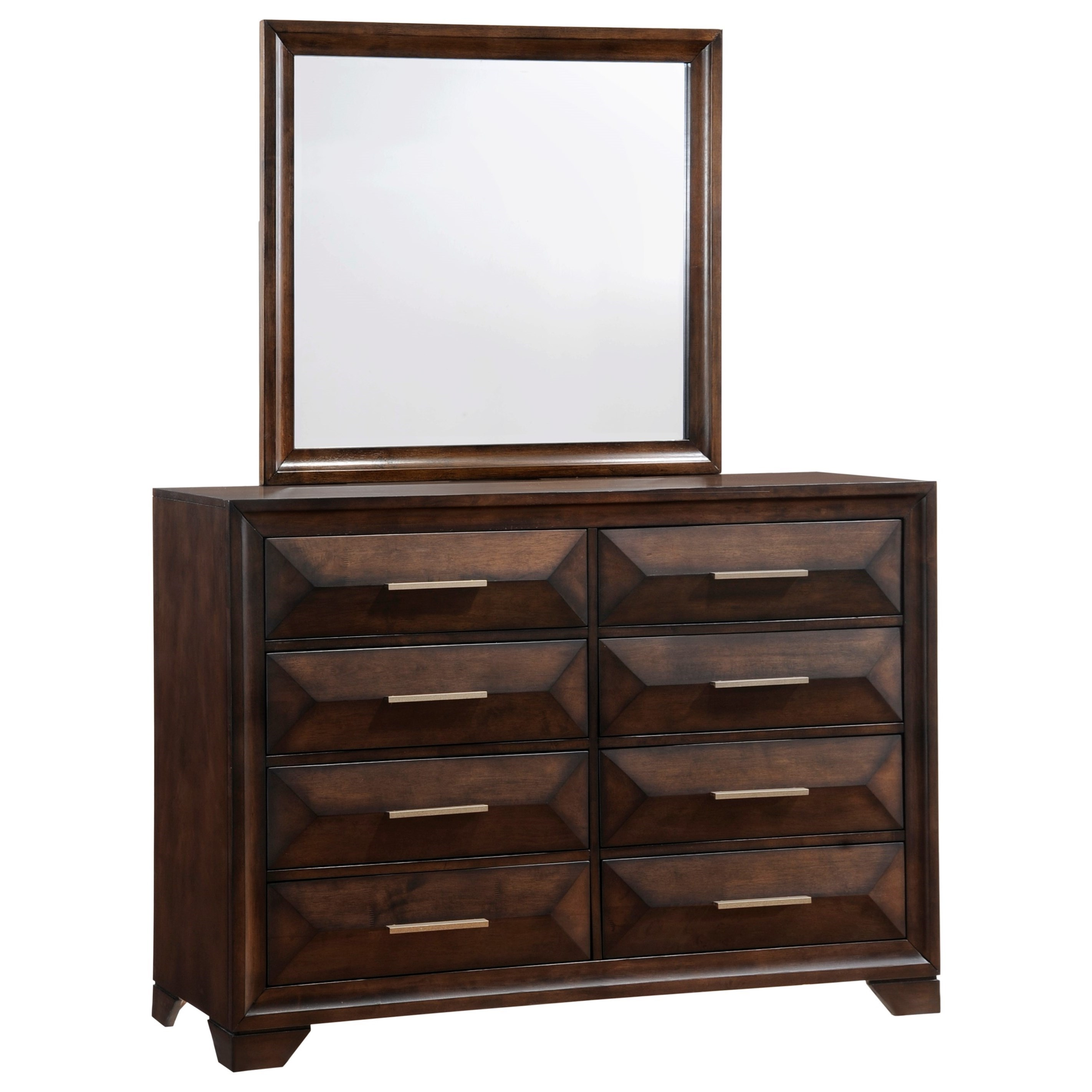 Anthem Dresser and Mirror Set by Lane at Powell's Furniture and Mattress