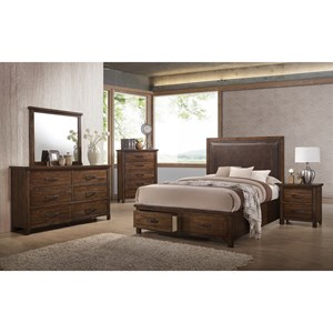 United Furniture Industries Cameron Queen Bedroom Group