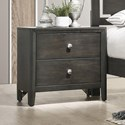 United Furniture Industries Grant Nightstand - Item Number: 1060-80