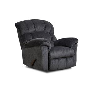United Furniture Industries Victory Navy Rocker Recliner