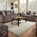United Furniture Industries 1530 Upholstered Loveseat - Item Number: 1530Lash