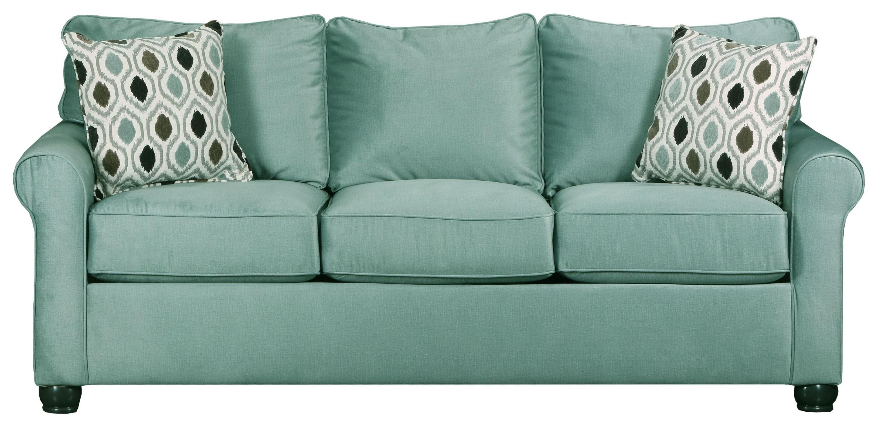 Three Seat Upholstered Sofa