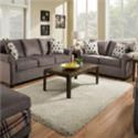 United Furniture Industries 1530 Storage Ottoman