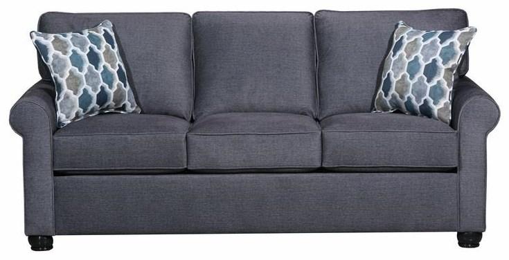 United Furniture Industries 1530 Queen Sleeper Sofa - Item Number: 1530Qslprash