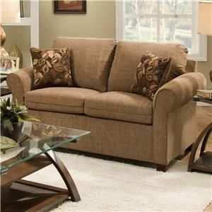 United Furniture Industries 1630 Transitional Loveseat