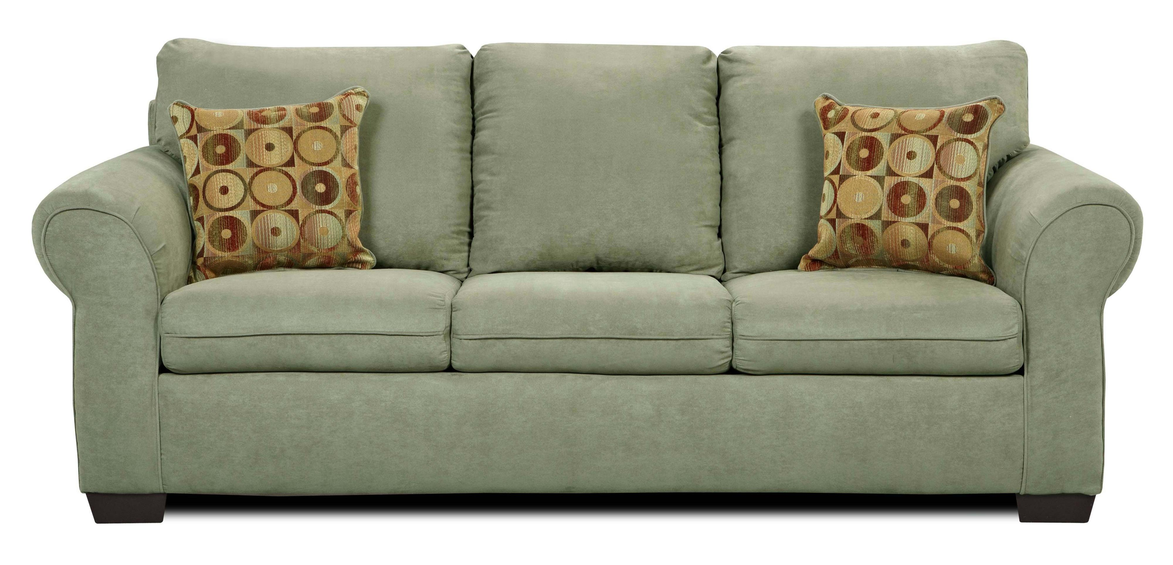 1640 Stationary Sofa by United Furniture Industries at Bullard Furniture