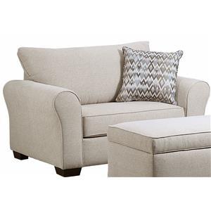 Prime Chair And Ottoman In Jacksonville Greenville Goldsboro Creativecarmelina Interior Chair Design Creativecarmelinacom