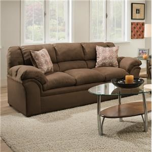 Simmons Upholstery 1720 United Casual Sofa