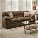Simmons Upholstery 1720 United Casual Sofa - Item Number: 1720S