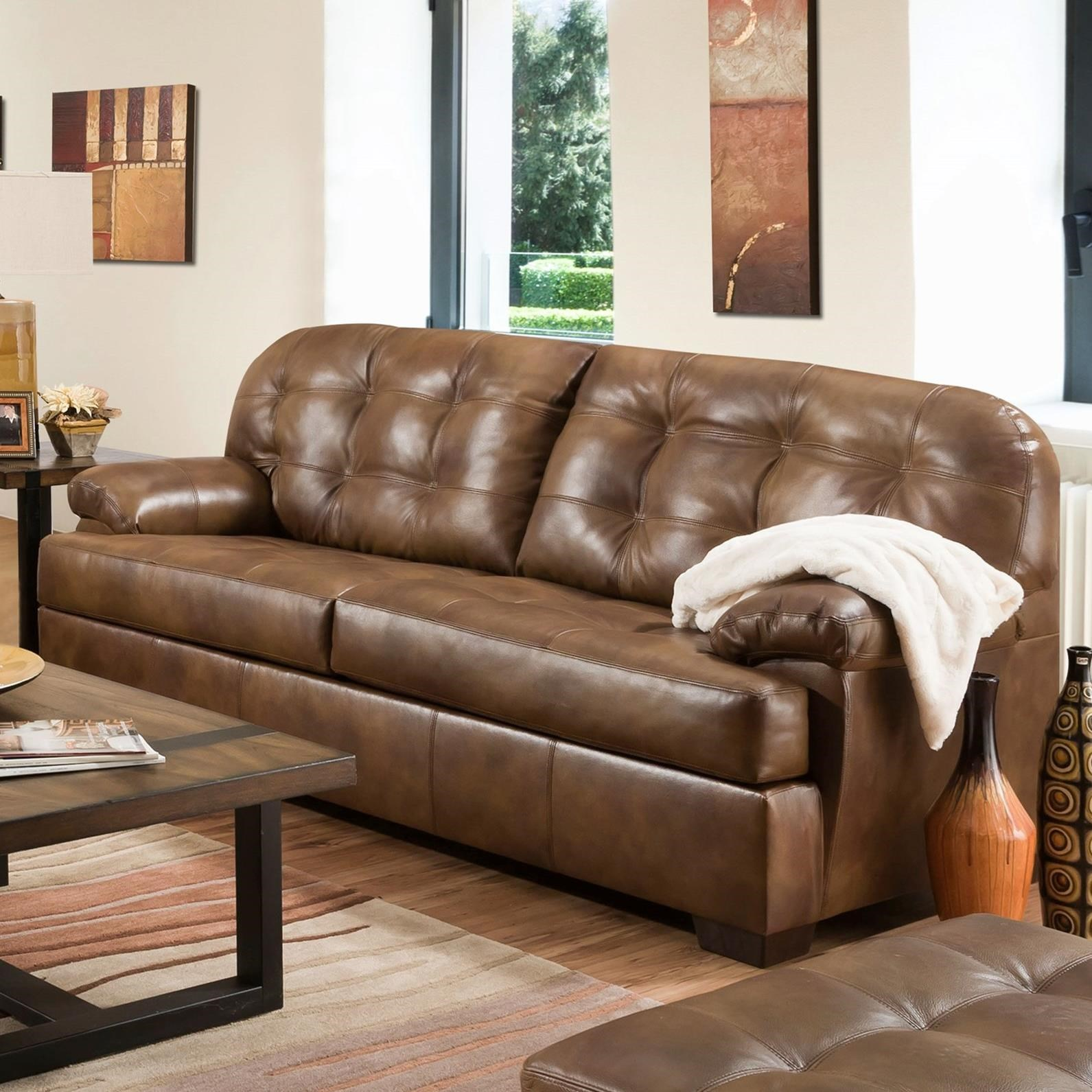 Furniture Industries: United Furniture Industries 2037 2037-03 Casual Sofa With
