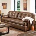 Simmons Upholstery 2037 Sofa - Item Number: 2037Sofa-Chaps