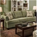 United Furniture Industries 2052 and 2062 Queen Sleeper - Item Number: 2052 Queen Sleeper