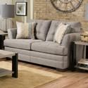 United Furniture Industries 2057 Loveseat - Item Number: 2057 Loveseat Gray