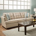 United Furniture Industries 2057 Queen Sleeper - Item Number: 2057 Queen Sleeper Tan