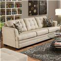 United Furniture Industries 2057 Sofa - Item Number: 2057 Sofa Doe