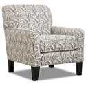 Simmons Upholstery 2153 Accent Chair - Item Number: 2153-012-Basta Pumice