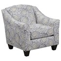 United Furniture Industries 2154 Accent Chair - Item Number: 2154-012-Mosaic Antique