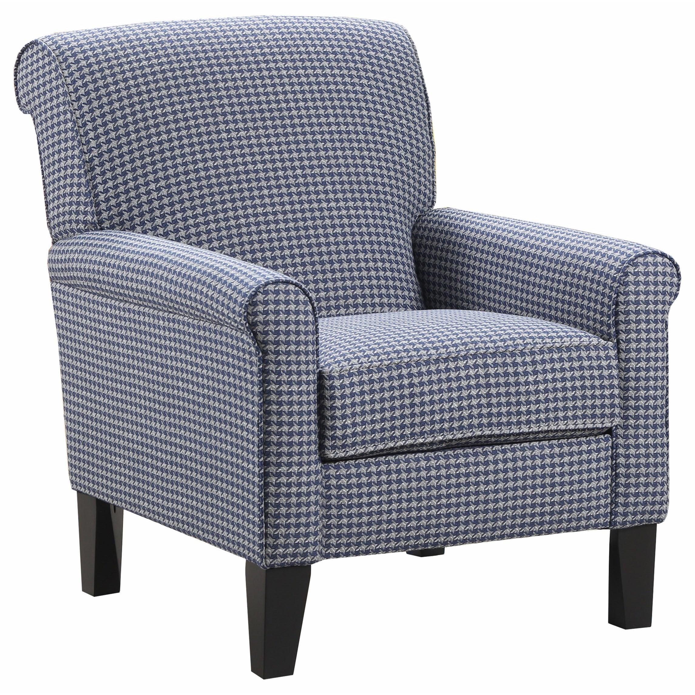 VFM Basics 2160 Accent Chair - Item Number: 2160Chair-Hawthorne Cobalt