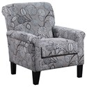 United Furniture Industries 2160 Accent Chair - Item Number: 2160Chair-PenelopeStone