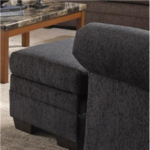 United Furniture Industries 2256 Transitional Ottoman