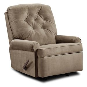 Umber JULES Transitional Rocker Recliner