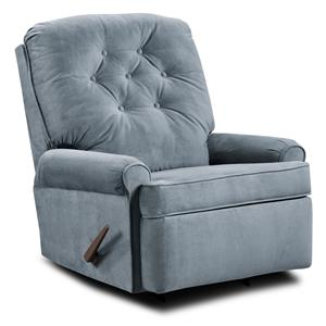 Simmons Upholstery 241 Transitional Rocker Recliner