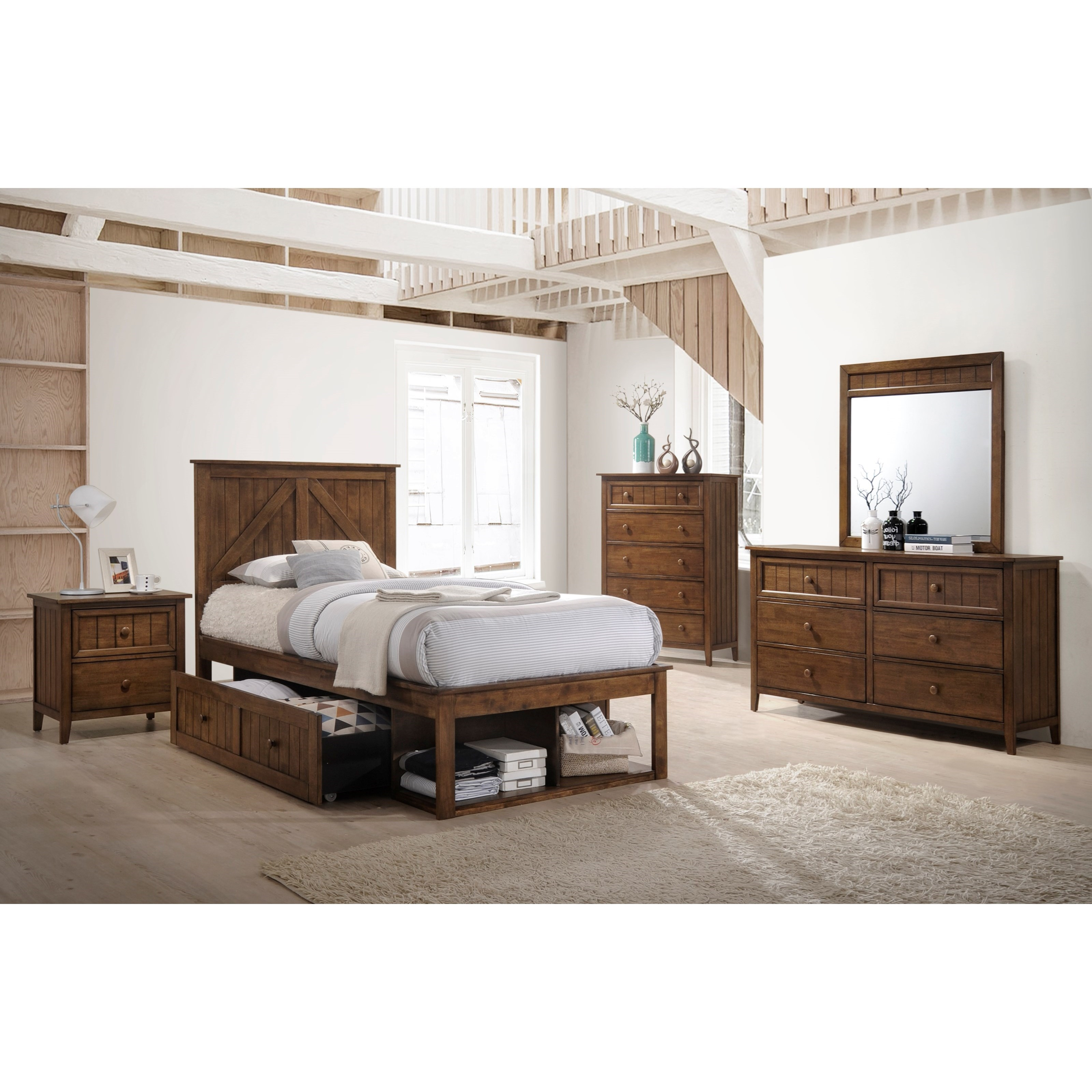 Ashland Full Bedroom Group by United Furniture Industries at Dream Home Interiors