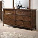 United Furniture Industries Ashland Dresser - Item Number: 3015-10