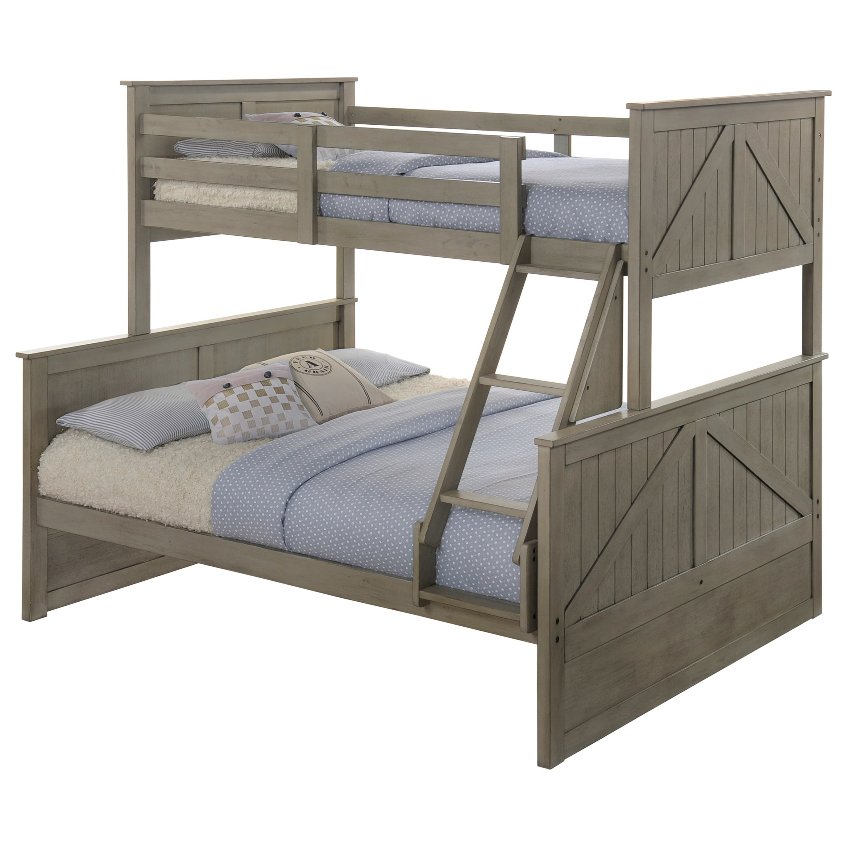 Ashland Twin Over Full Bunk Bed by United Furniture Industries at Dream Home Interiors