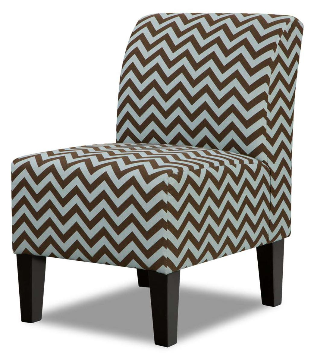 Modest Armless Accent Chair Decoration Ideas