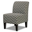 Simmons Upholstery 3028 Accent Chair - Item Number: 3028 Accent Chair Chevron