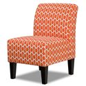 Simmons Upholstery 3028 Accent Chair - Item Number: 3028 Accent Chair Domino
