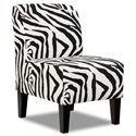 Simmons Upholstery 3028 Accent Chair - Item Number: 3028 Accent Chair Zebra