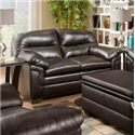 United Furniture Industries 3615 Casual Loveseat - Item Number: 3615 Loveseat ME